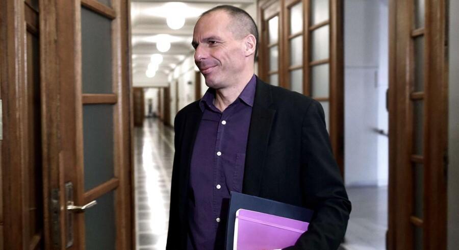 Manden med listen. Den græske finansminister Yanis Varoufakis sendte mandag aften en vigtig liste til sine kolleger i de øvrige Eurolande.