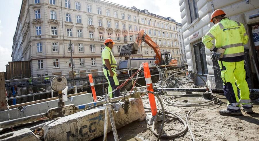 Der er kommet lidt mere gang i det danske byggeri.