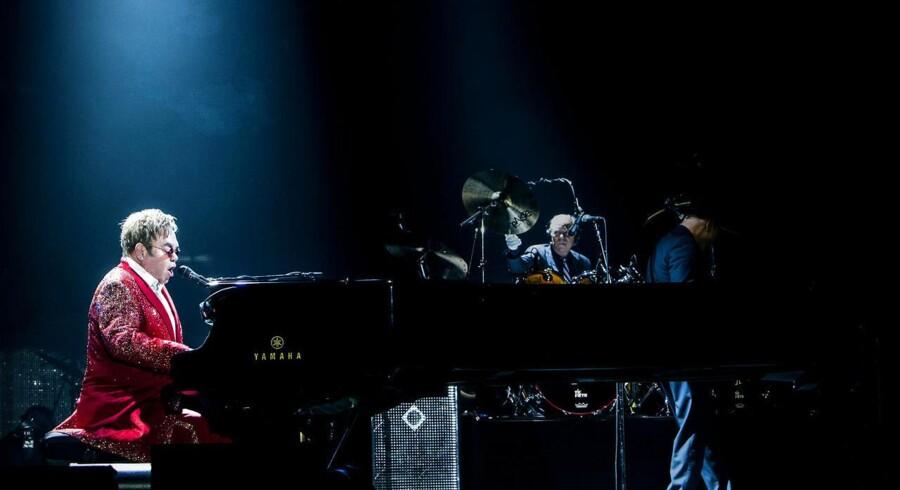 Elton John gav koncert i et fyldt Forum, onsdag d. 12. november.