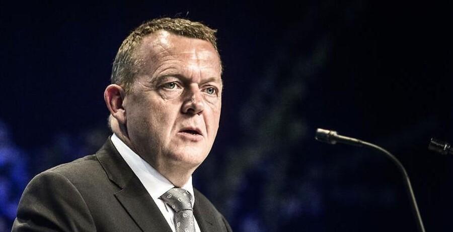 Venstres formand Lars Løkke Rasmussen