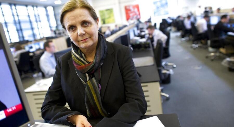 Karen Frøsig, topchef i Sydbank, har i dag præsenteret en ny strategiplan, som betyder færre medarbejdere og færre filialer.