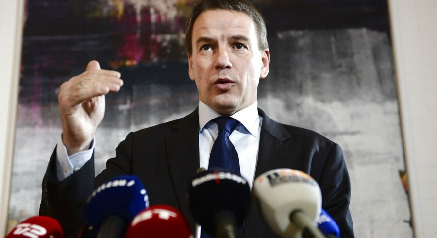 Forhenværende udviklingsminister Christian Friis Bach forklarede torsdag på et pressemøde sin afgang som minister.