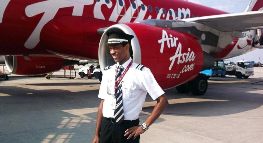 Privatfoto af Remi Emmanuel Plesel, der var andenpilot på det nedstyrtede AirAsia-fly.