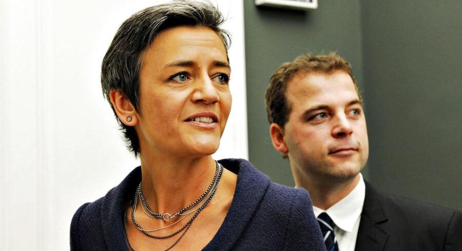 Radikales tidligere leder, Margrethe Vestager, hentede i 2011 opbakning fra 9,5 procent af vælgerne. I dag står partiet med den nye leder, Morten Østergaard, i spidsen til blot 6,7 procent af stemmerne.