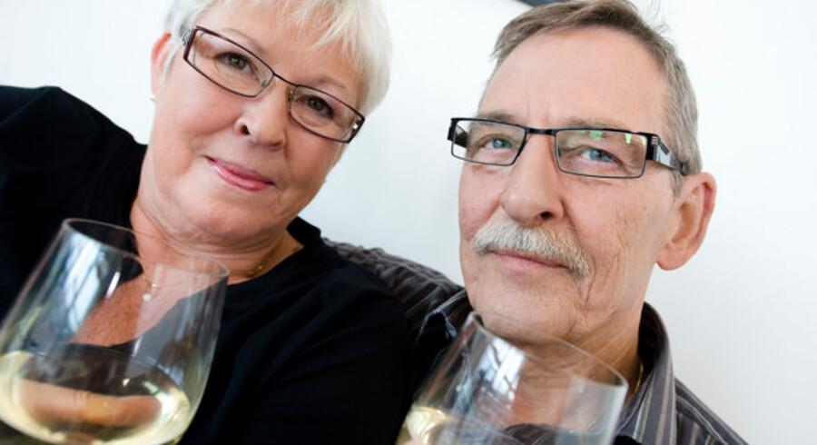 Skål og god rejse! Seniorer med få år til pensionering vil skrue op for forbruget, selv om deres opsparing fik store skrammer under finanskrisen.