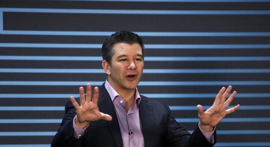 Ubers CEO, Travis Kalanick, har kæmpe planer for taxi-appen i Kina, og Ubers værdi eksploderer.