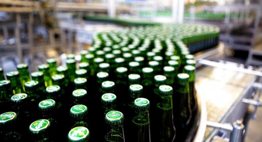 Rusland blev for alvor vigtigt for Carlsberg, da det danske bryggeri i 2008 overtog den fulde kontrol med Ruslands største bryggeri Baltika. Men siden er det ikke gået som planlagt, og Carlsberg har været ramt af mange vanskeligheder på det russiske marked. Arkivfoto.