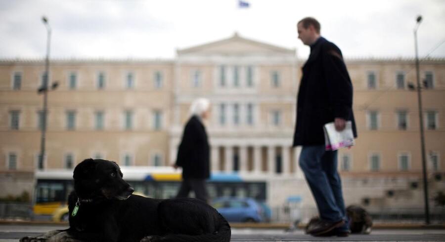 Grækenland har både høj gæld og høj korruption.