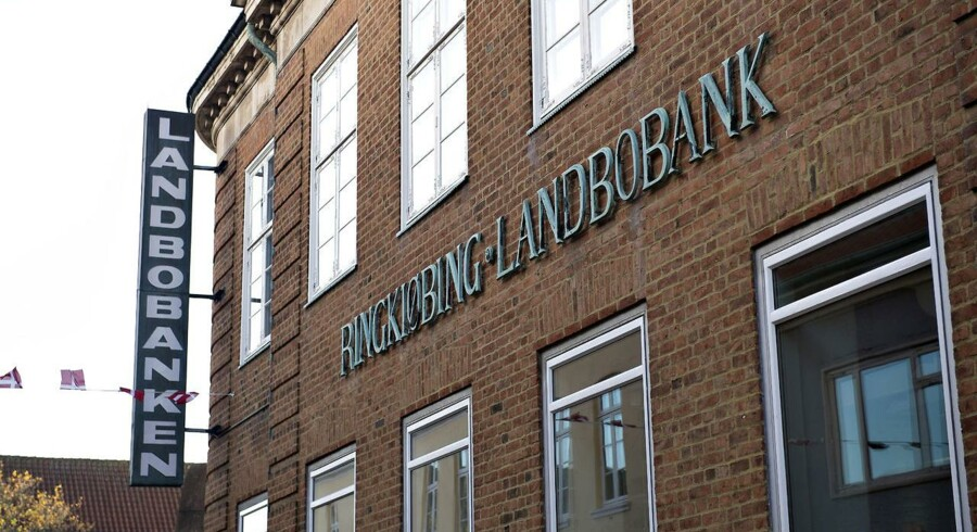 Ringkjøbing Landbobank. exteriør Torvet 1 - Ringkøbing