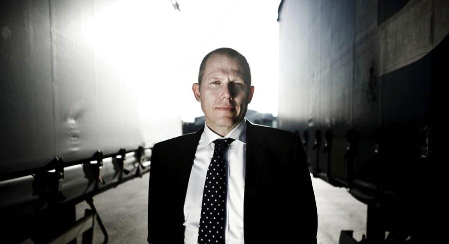 Berlingske Business giver ordet til administrerende direktør i speditørvirksomhed DSV, Jens Bjørn Andersen.