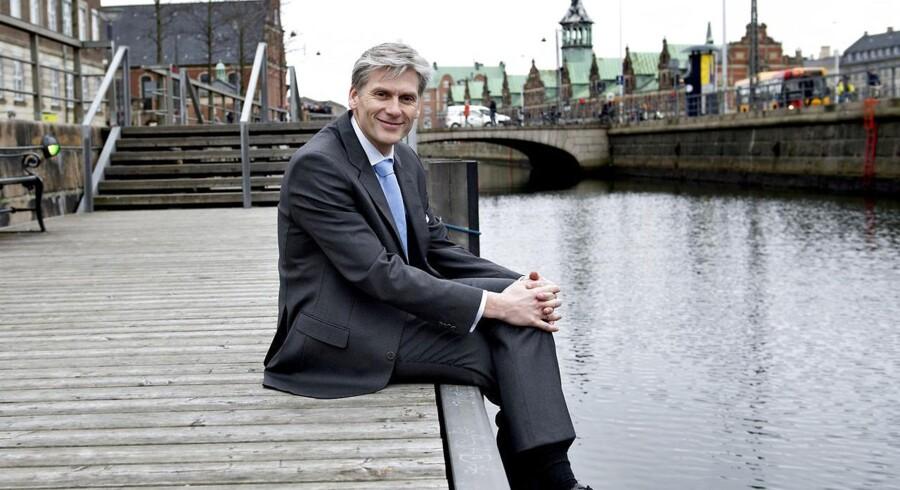 Fremgang i dansk økonomi betyder fremgang i Danske Bank, siger bankens adm. direktør Thomas F. Borgen.
