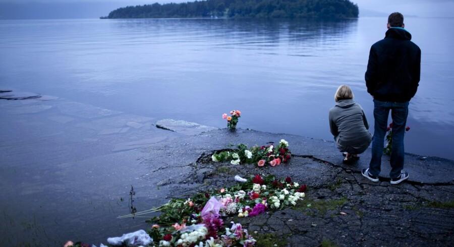 Utøya blev scene for et af de værste terroranslag i Norges historie, begået af Anders Behring Breivik. Arkivfoto: Mads Nissen