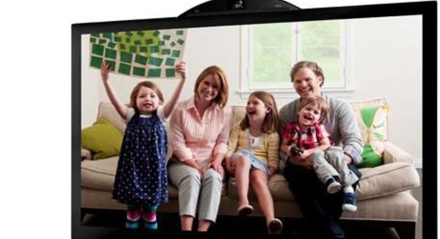 Ciscos umi-videokonferencesystem til hjemmet med et kamera på TV-skærmen og lidt ekstra udstyr forsvinder nu. Foto: Cisco