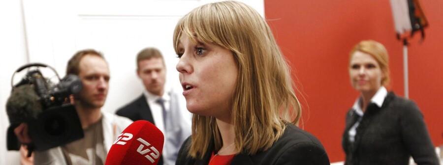 Socialdemokraternes retsordfører, Trine Bramsen, vil på ingen måde være med til at frigive hashen.