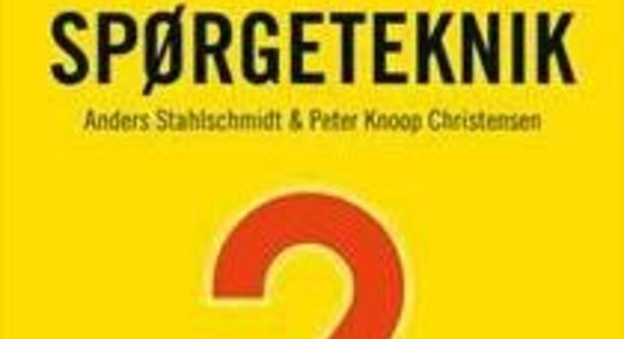 Spørgeteknik Anders Stahlschmidt og Peter Knoop Christensen, Akademisk Forlag Business, 296 sider, 299,95 kroner.