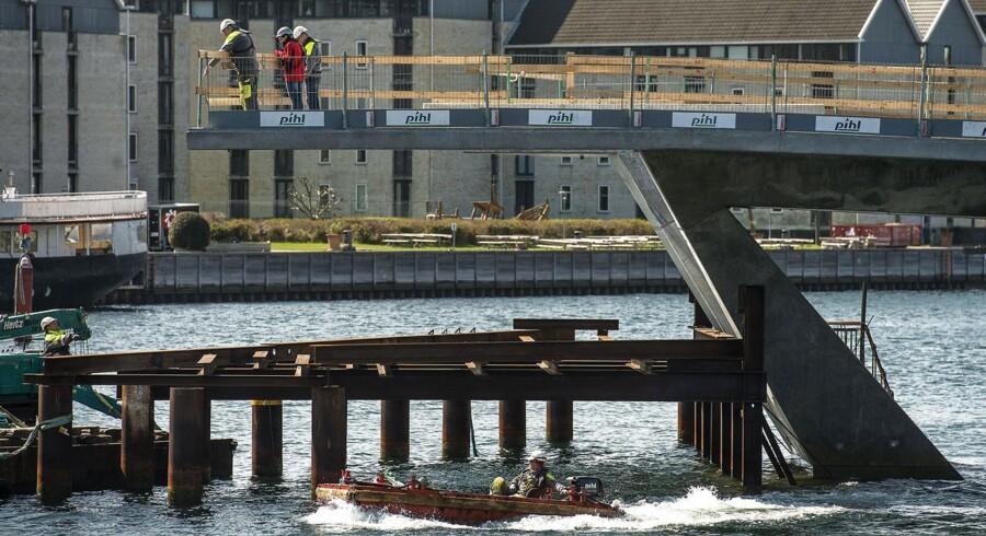 Havnebroen mellem Nyhavn og Holmen. Foto: Søren Bidstrup