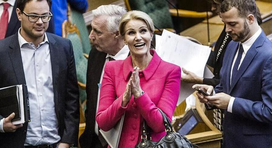 Folketingets åbning tirsdag d. 7. oktober 2014. Statsminister Helle Thorning-Schmidt.