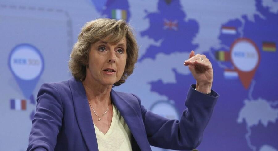 EUs klimakommissær Connie Hedegaard har tidligere ønsket at reducere CO2-udslippet med 40 procent i 2030. Nu lyder Kommissionens forslag på 30 procent.