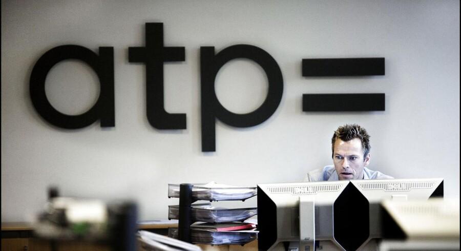 Medlemmerne af ATP betalte i gennemsnit 2.300 kr. i 2014 i skat på deres afkast.