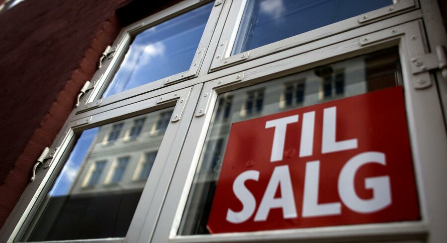 Det lave renteniveau betyder at færre boligejere ikke er i stand til at betale terminen.