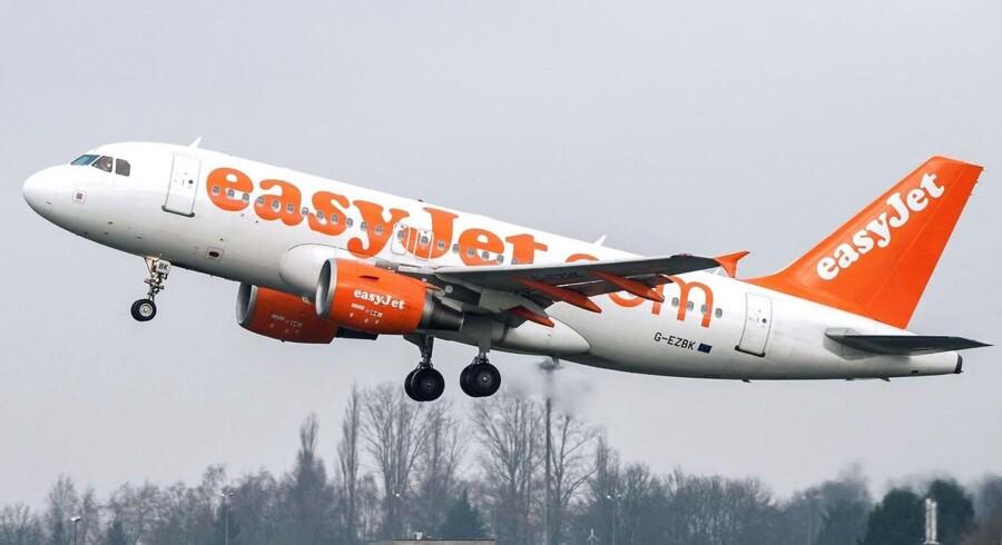 Europas næststørste laveprisflysselskab, Easyjet, venter, at underskuddet for første halvår mindskes i forhold til tidligere ventet.