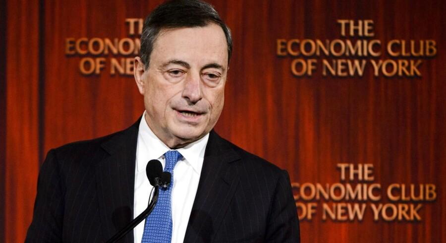 Mario Draghi har med lave renter og kvantitative lempelser sikret, at euro nu er tilstrækkelig svag til, at Europa kan indlede et nyt økonomisk opsving.