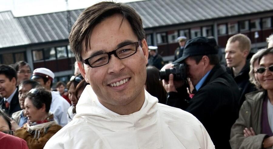 Svend Hardenberg spillede som formand en vigtig rolle i det ansættelsesudvalg, der skulle udpege en ny chef for det grønlandske Departementet for Finanser og Indenrigsanliggender. Denne og resten af ansættelsesforløbet vil ombudsmanden i Grønland nu undersøge. Arkivfoto: Keld Navntoft