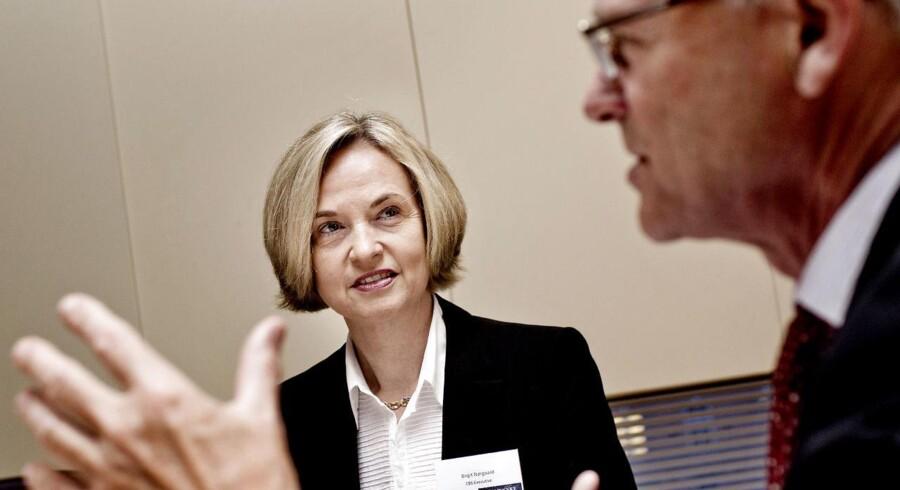 Bestyrelseskonference i Berlingske konferencesal. Her er det Birgit Nørgaard under konferencen.