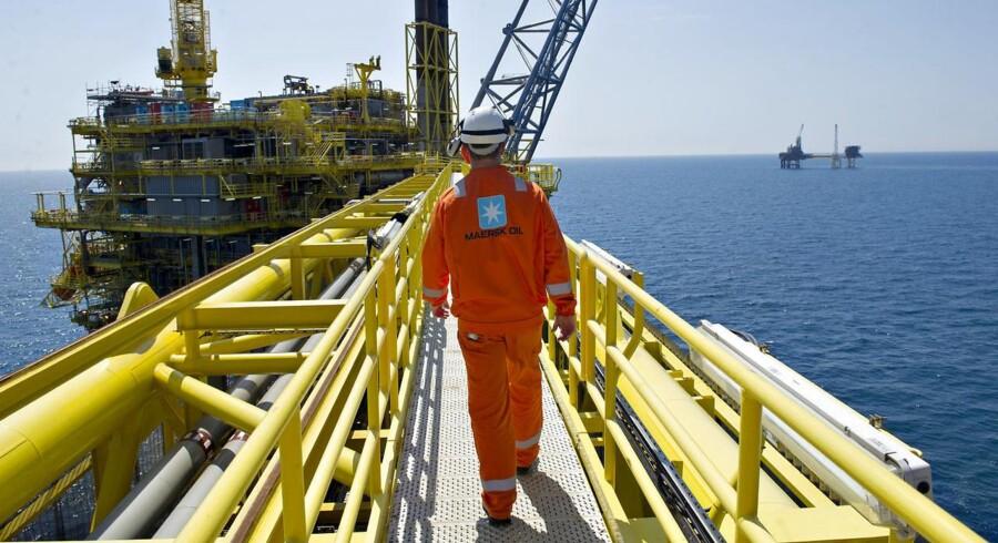 Mærsk Oil sender 1,5 milliarder kroner efter olieboringer i Nordsøen. Fire boringer skal øge produktionen.