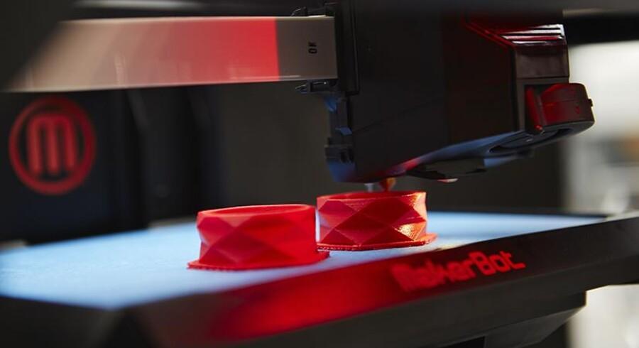 3D printere kan efterhånden håndtere flere og flere materialer. Hvor det tidligere primært var gips og plastic, de producerede i, begynder de nu at komme i varianter, der kan print i flere materialer som nylon, gummi, keramik, metal, cement og chokolade.