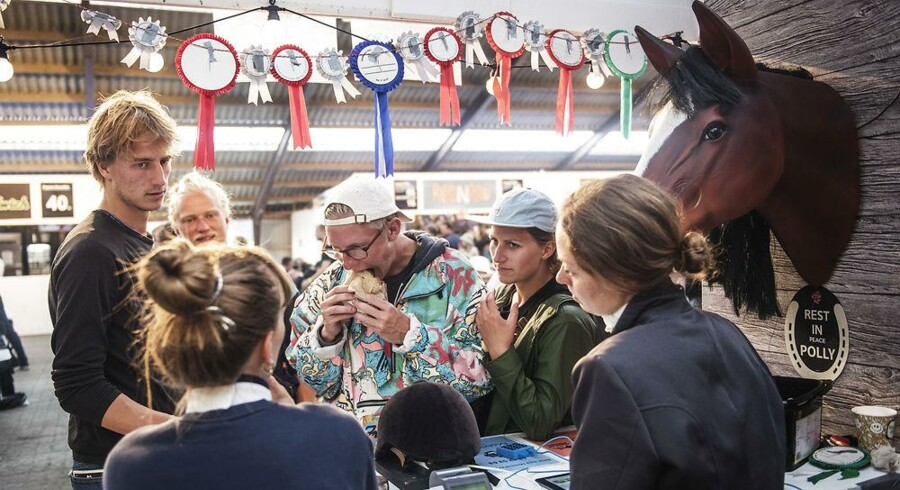 Roskilde Festival er et stort mad-eksperimentarium, hvor nye retter og køkkener kan prøves af på et nysgerrigt publikum. Efter billedet af dømme kommer hest tilbage på menuen. Foto: Ólafur Steinar Gestsson