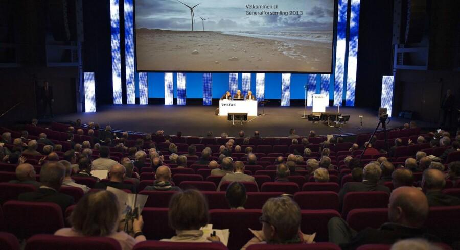 Generalforsamling i Vestas d. 21 marts 2013
