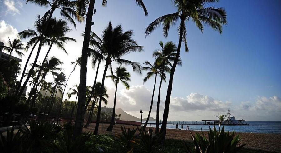 Hawaii-øen Lanai har skiftet ejer. I første kvartal i år var 26.000 turist forbi øen. Arkivfoto: Romina Amato, Reuters/Scanpix