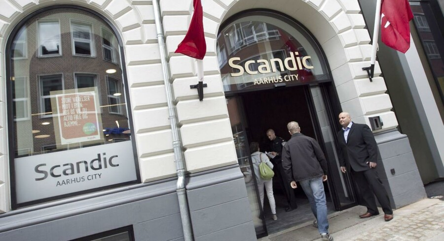 Hotel Scandic City i Østergade i Århus