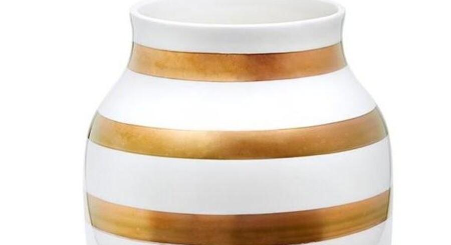 Kählers 175-års jubilæumsvase sælges nu for op til 4.900 kroner på nettet. Butiksprisen var 349 kroner, men vasen er nu udsolgt. (Foto: kahlerdesign.com)