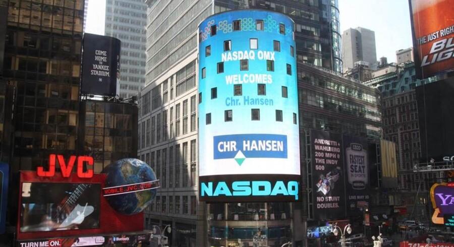 Vind Aktiespillet og få dit billede på Times Square i New York