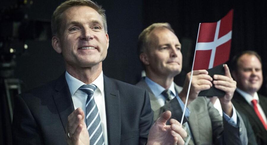 Kristian Thulesen Dahl på DFs landsmøde i Herning.
