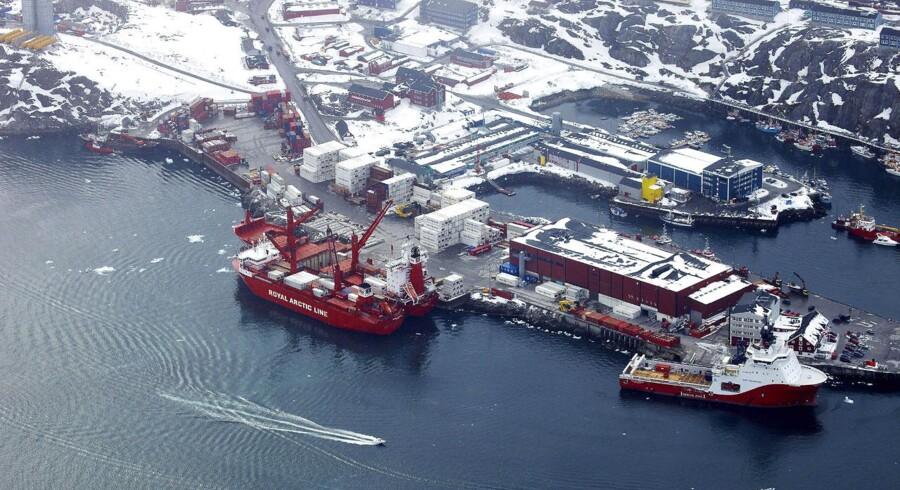 Nuuk havnen