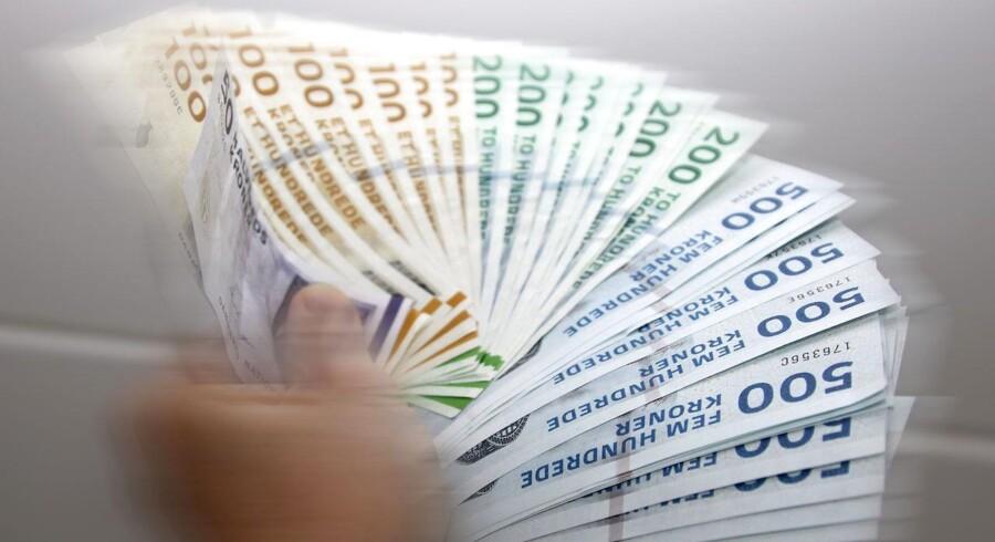 Samlet ligger den danske lønudvikling således lige nu lige så meget under den udenlandske, som den lå over i de gode år fra 2006 til 2008.