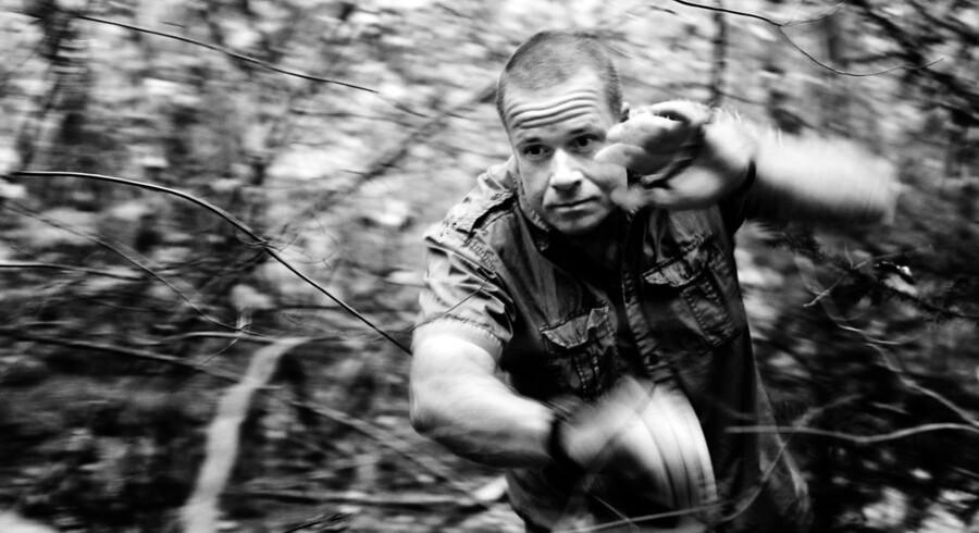"""Tidligere jægersoldat Thomas Rathsack. Forfatter til bogen """"Jæger - i krig med eliten."""""""