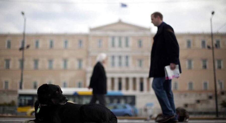 Grækenland har været igennem to statsbankerotter i år, påpeger Sydbanks cheføkonom.