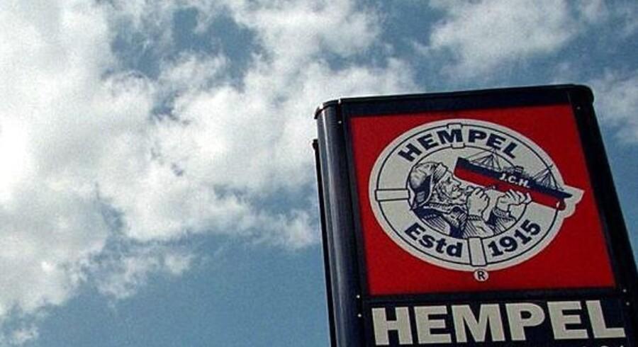 Malingproducenten Hempel er rant af en bestikkelsessag i Tyskland. Her er det virksomhedens tidligere, men ikoniske sømands-logo.