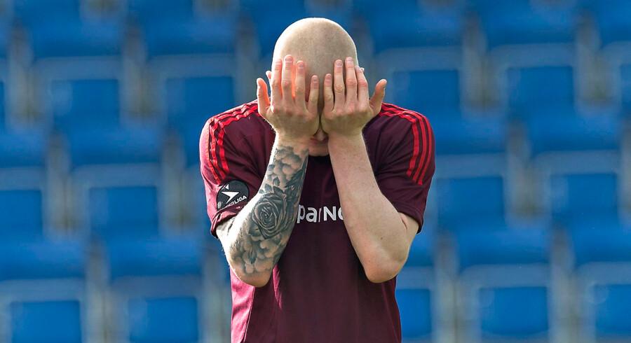 Hver fjerde fodboldspiller bliver ramt af stress eller angst i løbet af karrieren