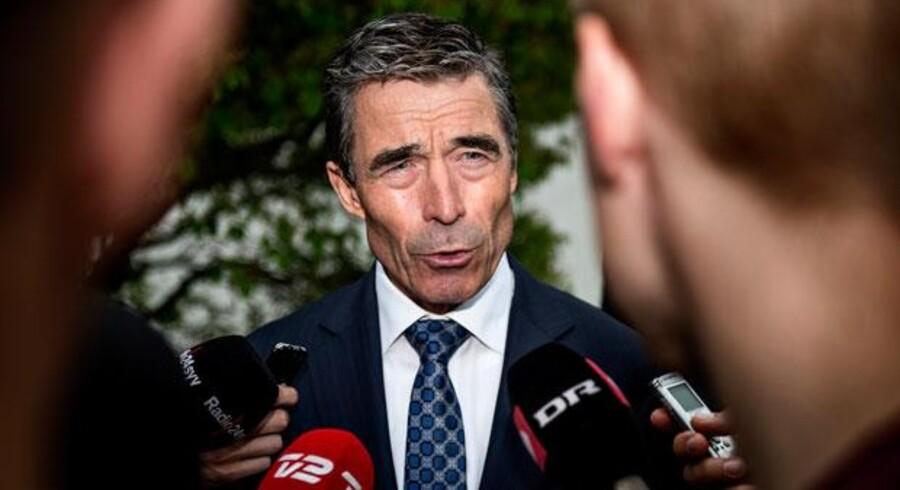 NATOs generalsekretær, tidligere statsminister Anders Fogh Rasmussen (V), var i går i Danmark for at vidne for Statsløsekommissionen og pointerede, at regeringen havde lagt stor vægt på at overholde alle konventioner. Foto: Torkil Adsersen