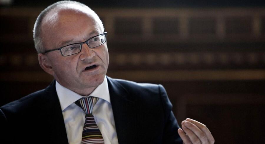 Torben Möger Pedersen er en kreativ herre, som står bag PensionDanmarks mulige investering i en færøsk tunnel.