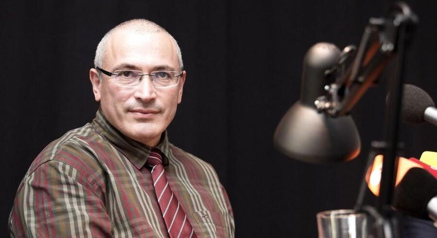 Mikhail Khodorkovskij tilbragte 10 år i russiske fangelejre, efter olieselskabet Yukos blev beslaglagt af staten.