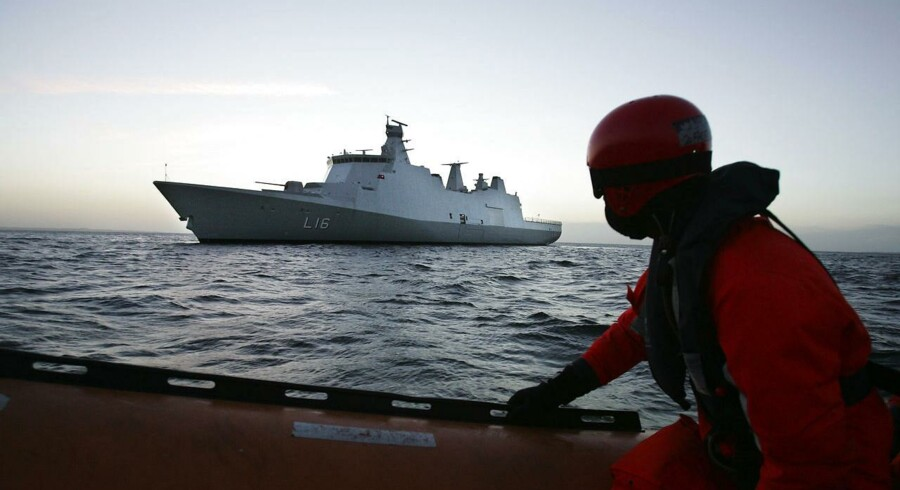 Brancheforeningen Danske Maritime mener, det er en forfejlet politik, når forsvarsministeren sender opgaven med at vedligeholde Søværnets skibe i EU-udbud.