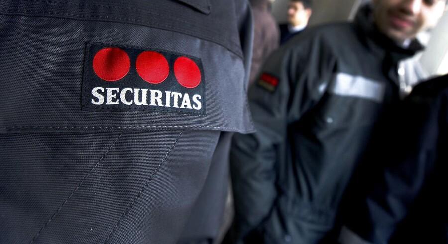 Den svenske sikkerhedsvirksomhed Securitas har tirsdag aflagt årsregnskab for 2015, hvor indtjeningen i årets fjerde kvartal skuffer sammenlignet med markedets forventninger. Arkivfoto.