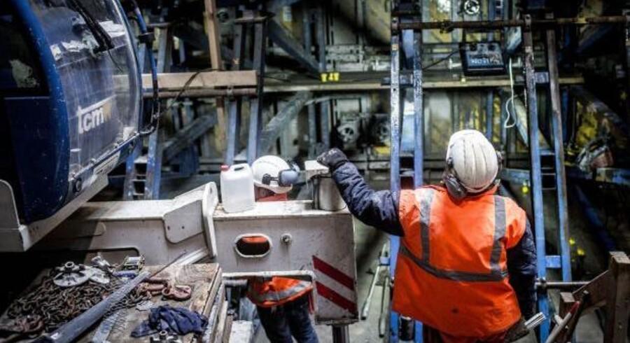 Industriproduktionen udviklede sig bedre end ventet.