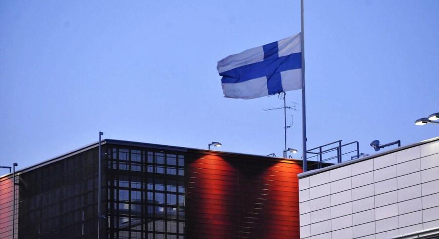 """Finlands økonomi er i knæ. Ifølge økonomer er den finske økonomi dog ikke i recession, men hvad der kaldes finansiel """"depression""""."""
